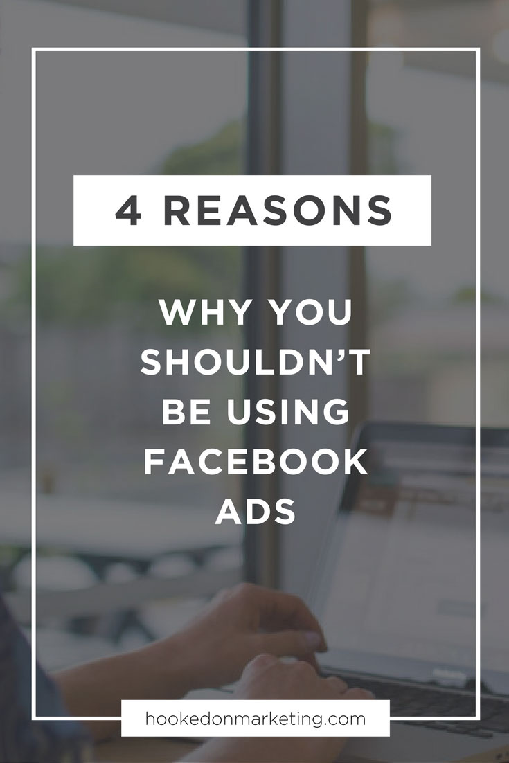 Do not use facebook adds, here's why!