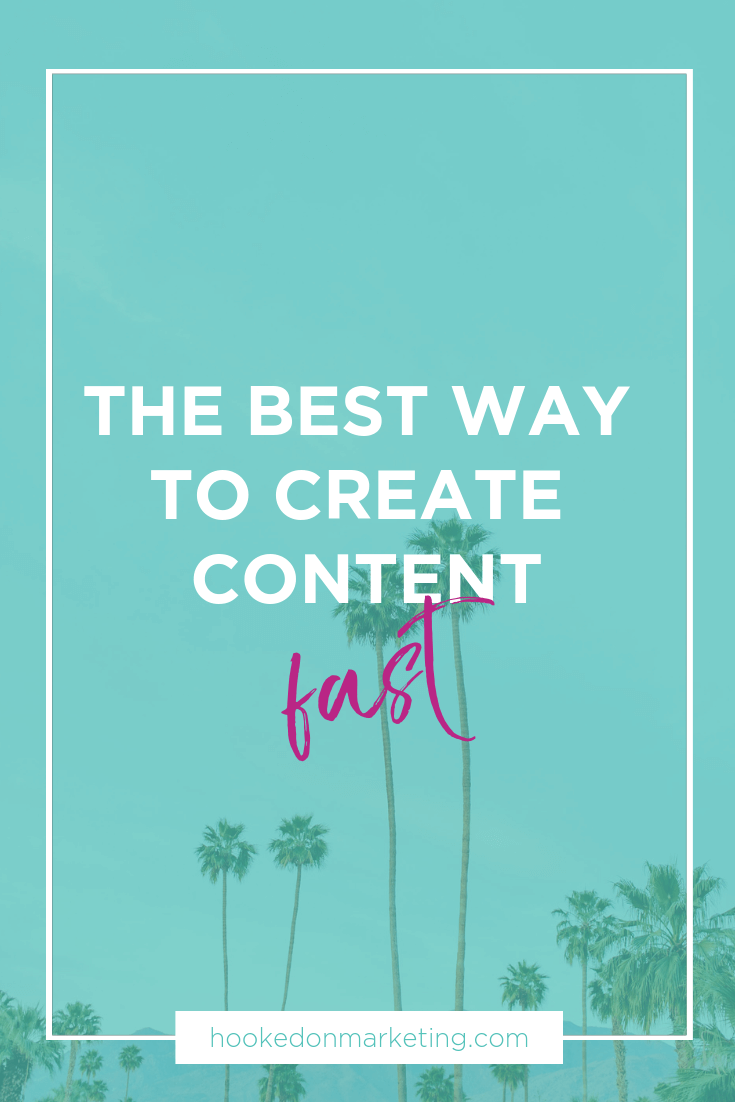 create content fast
