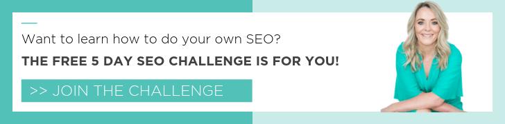 seo challenge invite