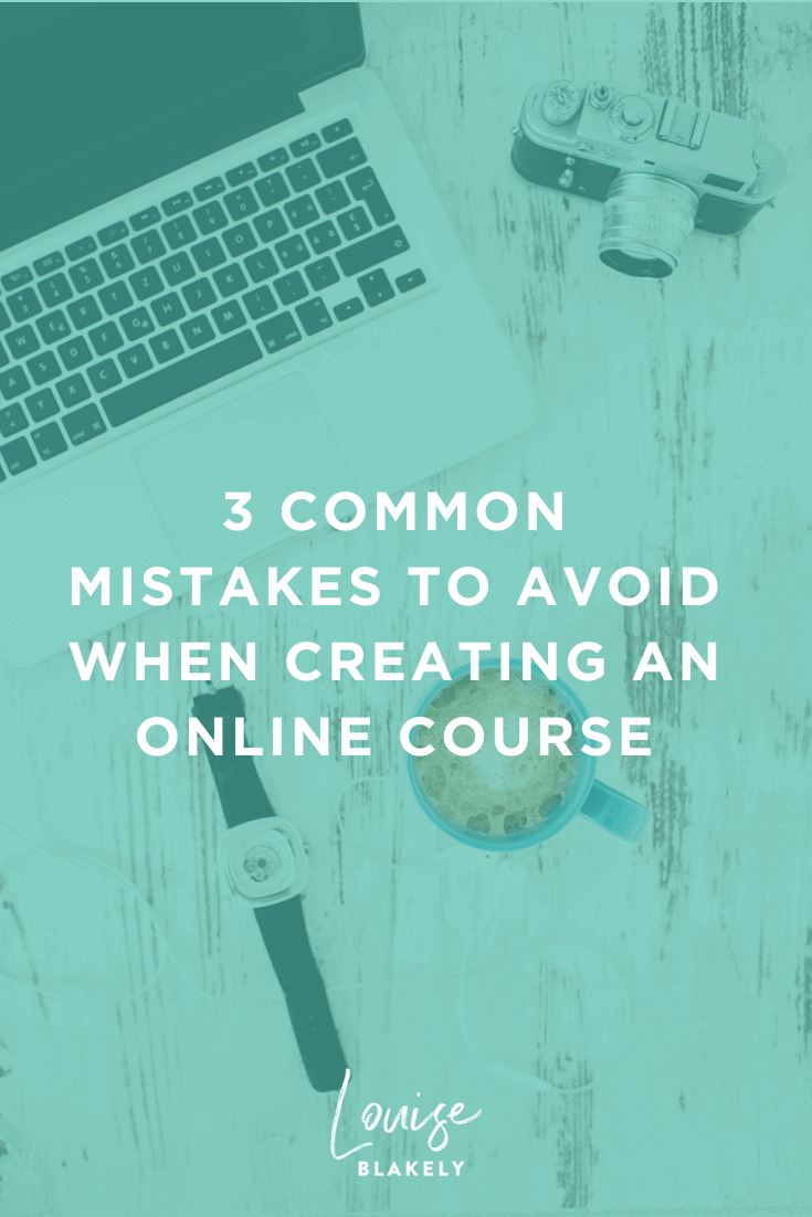 common mistakes to avoid when creating an online course